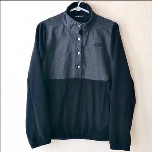 North Face Button Up Pullover